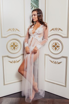 Sexy boudoir dress with lace
